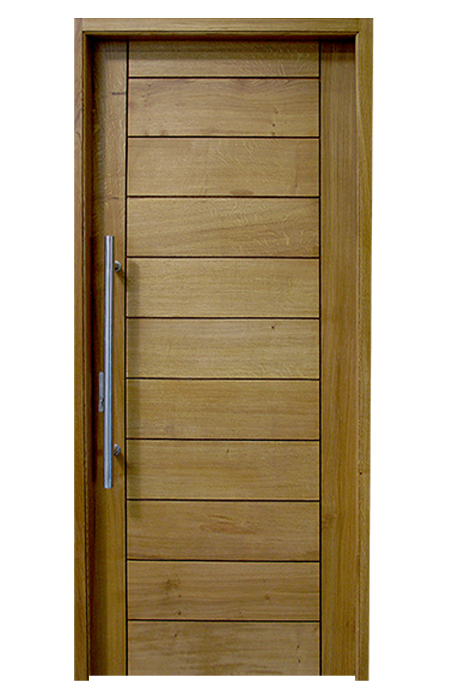 Porte d entr e bois contemporaine for Portes interieures bois contemporaines